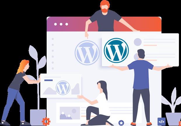 Nos experts WordPress pour la maintenance de votre site
