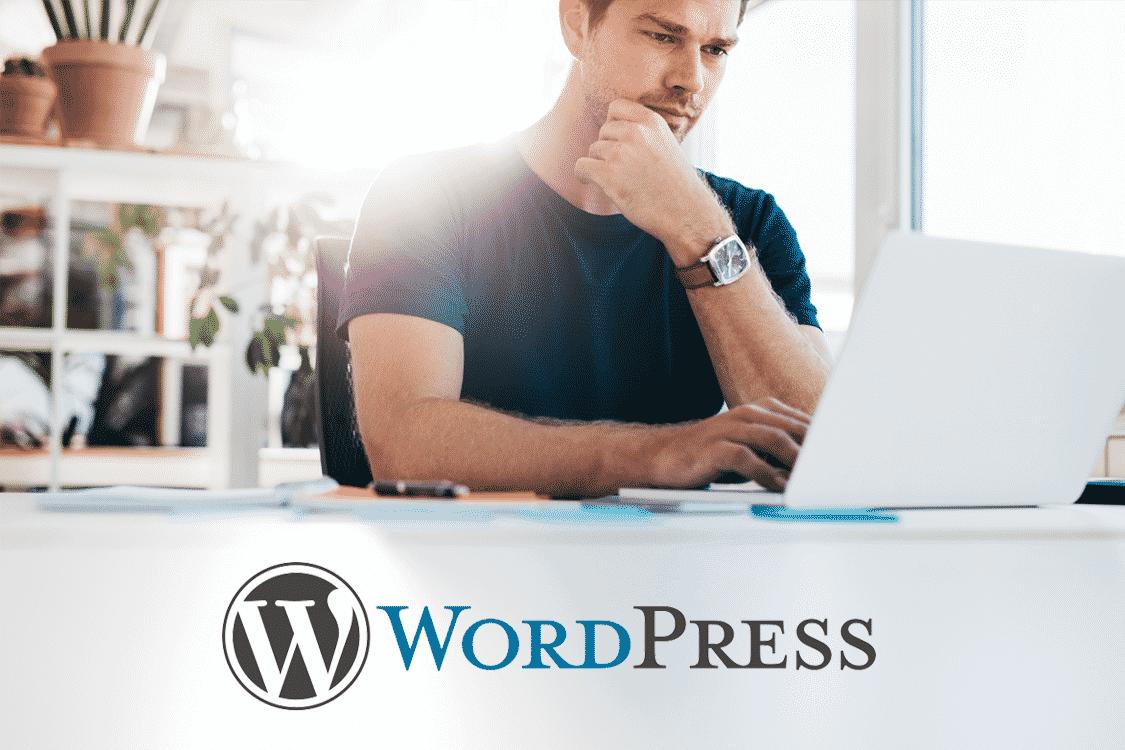 Mise à jour CMS wordpress